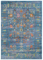 Safavieh Valencia Collection VAL108 Rug, Blue/Multi, 4' X 6'