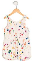 Stella McCartney Girls' Splatter Print Sleeveless Dress