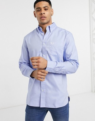Fred Perry oxford shirt in blue
