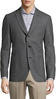 COLLECTION Printed Wool Sportcoat