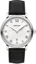 Montblanc Men's Swiss Tradition Black Alligator Leather Strap Watch 40mm 112633