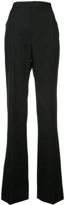 Givenchy wide leg tailored trousers