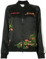 MHI Aube Tour bomber jacket - women - Silk - 8