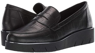 The Flexx Harrow (Black Crocco) Women's Shoes