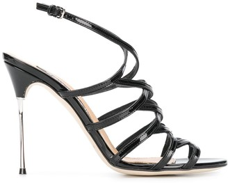 Sergio Rossi cage-strap sandals