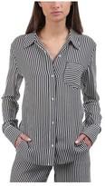 A.L.C. Women's Scott Silk Striped Button-Down Shirt
