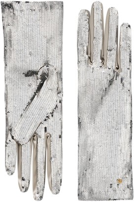 Gucci Sequin gloves