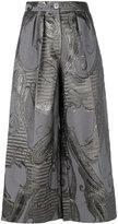Talbot Runhof Lisia trousers - women - Silk/Polyamide/Polyester/Cupro - 34