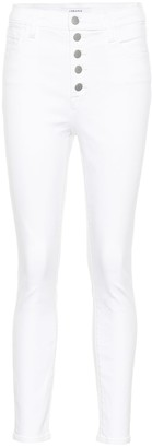 J Brand Lillie high-rise cropped jeans