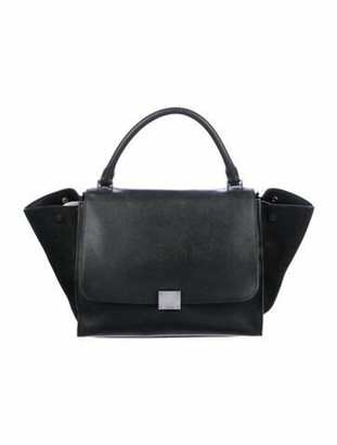 Celine Medium Trapeze Bag Black