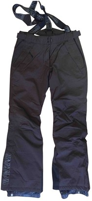 Napapijri Anthracite Trousers for Women