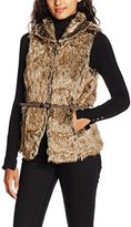 Only Women's onlAUGUSTA NATURE FUR WAISTCOAT OTW Sports Gilet