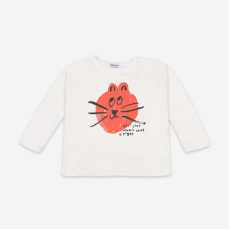 Bobo Choses Cat Long Sleeve T Shirt - 2-3 years