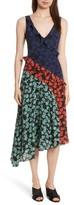 Saloni Women's Aggie Floral Print Silk Dress