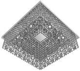TITANIALUX UK CZ344/8CH Crystal Chandelier, Crystal, Polished Nickel, G9, 40 watts, 40x40x12CM