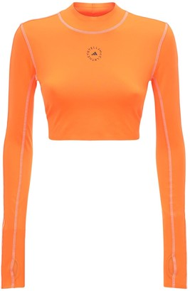 adidas by Stella McCartney Tech Crop Top W/ Back Strap