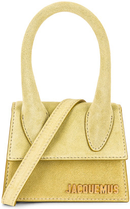 Jacquemus Le Chiquito Bag in Light Green | FWRD
