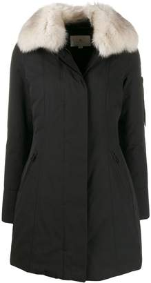 Peuterey contrasting collar padded coat
