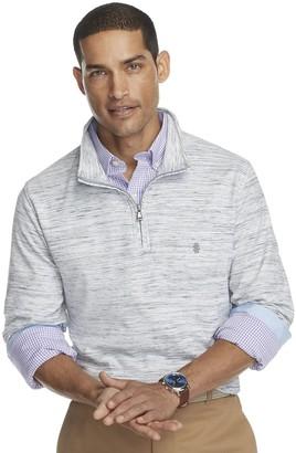 Izod Men's Advantage Regular-Fit Quarter-Zip Fleece Pullover