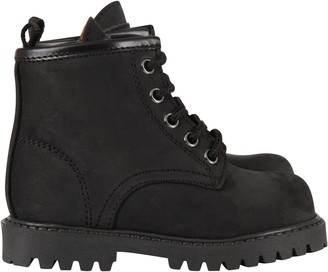 Gallucci Black Ankle Boots For Boy