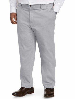 Amazon Essentials Men's Big & Tall Athletic-fit Casual Stretch Khaki Pant fit by DXL