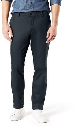 Dockers Men's Signature Khaki Lux Athletic-Fit Stretch Pants
