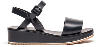 Tracey Neuls - BARBARA Midnight | Navy Leather Strap Sandals - 36