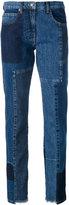 McQ 'Patti' patchwork jeans