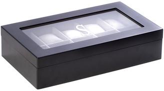 Bey-Berk Bey Berk Matte Black Wood 10 Watch Box