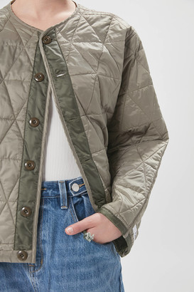 Pistola Denim Azra Quilted Reversible Bomber Jacket