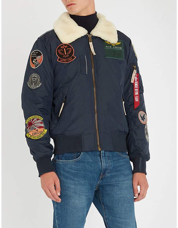 Alpha Industries Injector III shell bomber jacket