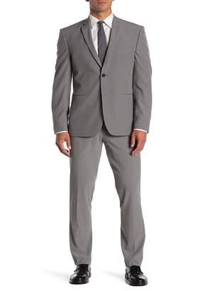 Perry Ellis Solid Very Slim Fit Performance Tech 2-Piece Suit