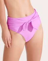 Veronica Beard Azoia Tie-Waist Bikini Bottom