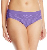 Bali Women's One Smooth U All Over Smoothing Hi Cut Panty