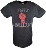 Freeze Raw Is Chris Jericho WWE Mens T-shirt-M
