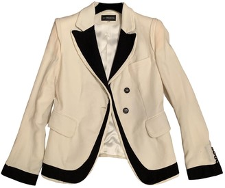Ann Demeulemeester White Wool Jackets