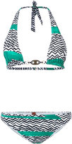 Missoni printed bikini - women - Nylon/Spandex/Elastane - 40