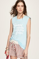 Rebecca Minkoff Catching Waves Muscle Tee
