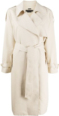 Alice + Olivia Adrien belted trench coat