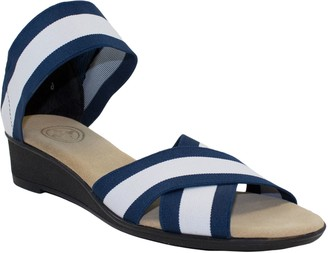 Lafayette Charleston Shoe Co. Crisscross Sandals Harrel
