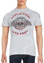 Affliction Logo Printed T-Shirt
