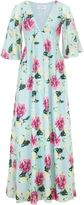Wolfwhistle Wolf & Whistle Sweetpea Chiffon Maxi Dress