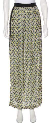 Cut25 by Printed Maxi Skirt