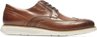Rockport Total Motion Sport Wingtip Leather Derby Sneakers