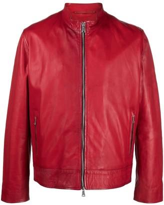 Suprema Red Leather Jacket
