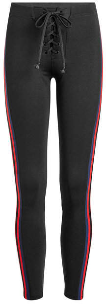 Yeezy Leggings with Lace-Up Front