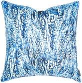 Lorena Gaxiola Feather Euro Sham, Royal Blue