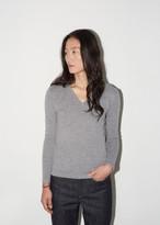 La Garçonne Moderne Portrait V-Neck Sweater