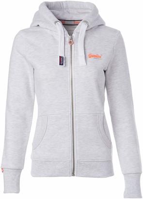 Superdry Women's Orange Label Primary Zip Hoodie