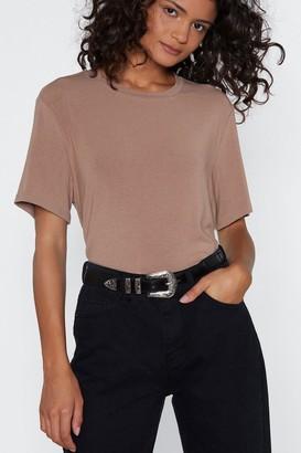 Nasty Gal Womens Olivia Western Belt - black - One Size